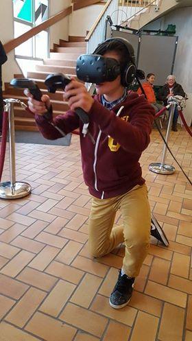 Casque à réalité virtuelle |