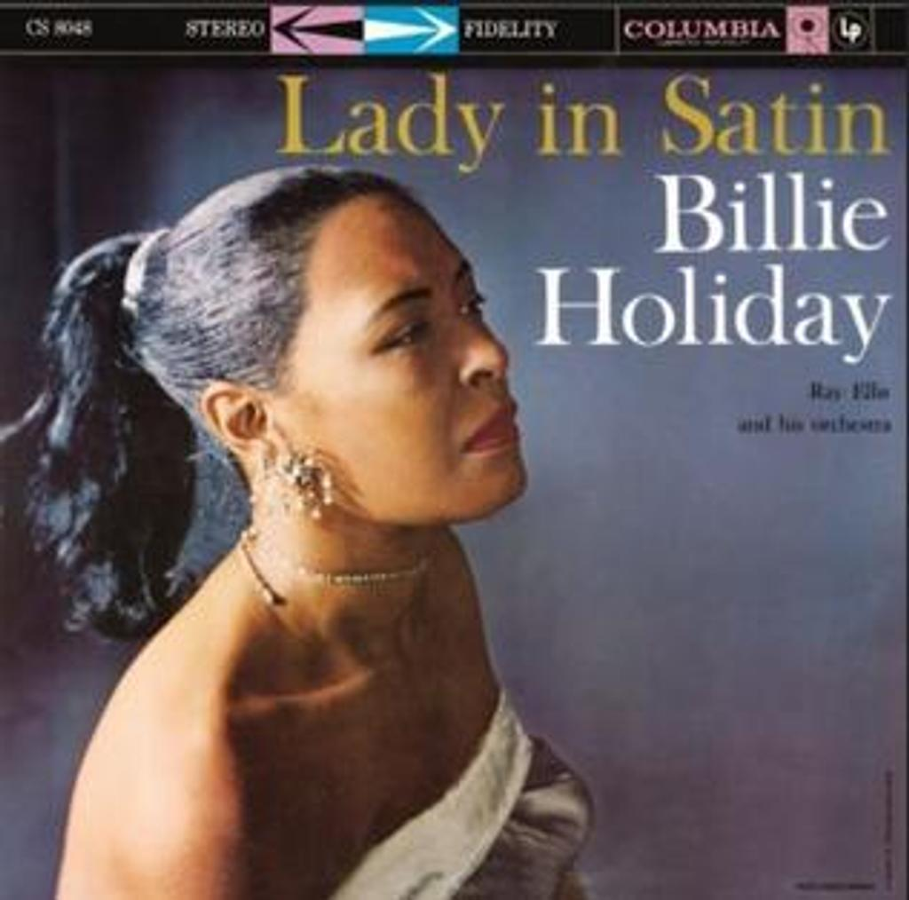 Billie Holiday - Lady in satin [33t] |
