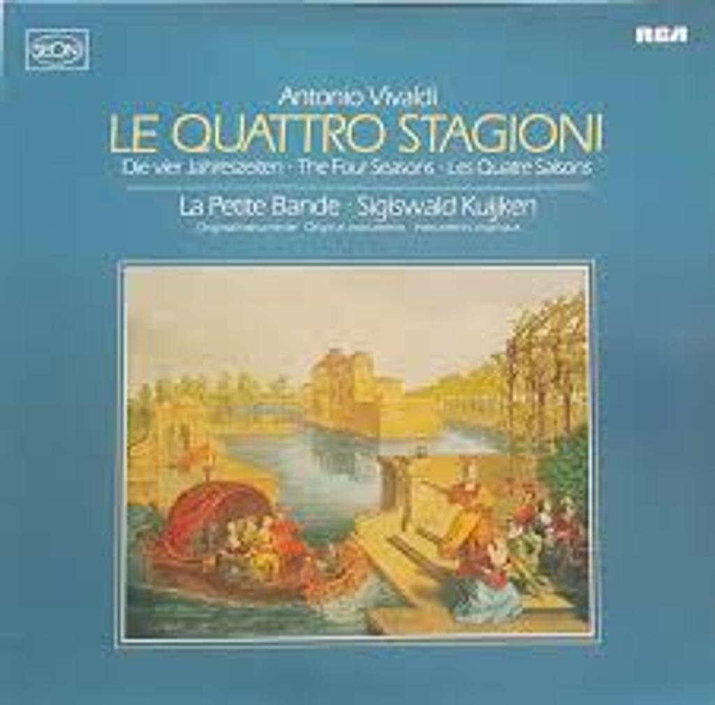 Le quattro stagioni [33t] : Les Quatre Saisons / Vivaldi, Antonio |