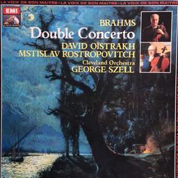 Brahms - double concerto [33t] / Brahms  