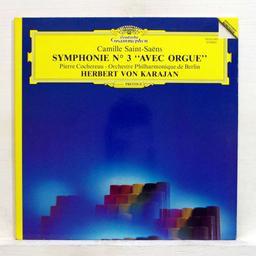 """Symphonie n° 3 en ut mineur, op.78 """"symphonie avec orgue"""" [33t] / Saint-Saëns  """