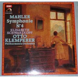 Mahler - Symphonie n°4 [33t]  