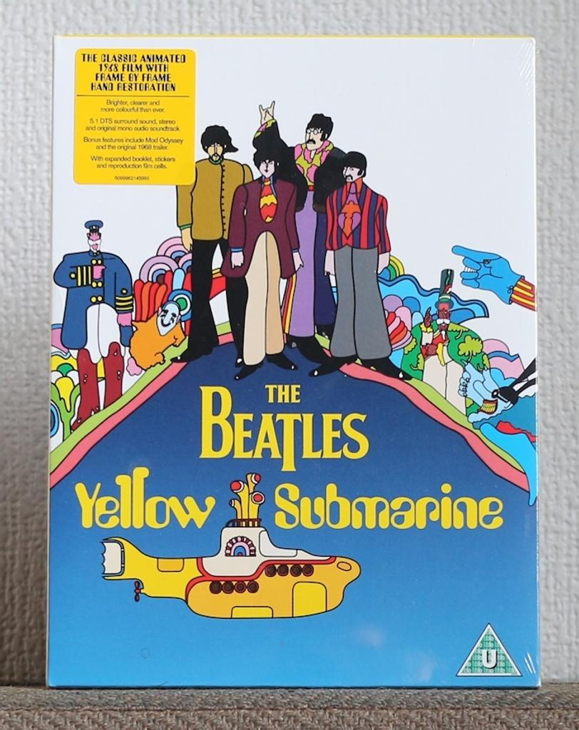 Yellow submarine : film d'animation - 1968 / The Beatles |