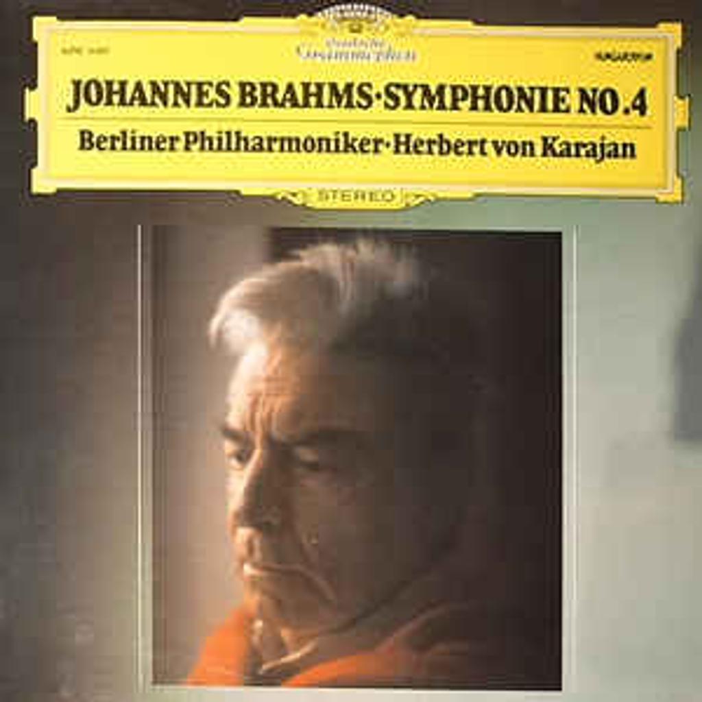 Brahms - Symphonie n°4 [33t] |