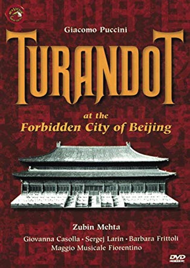 Turandot : at the Forbidden City of Beijing |