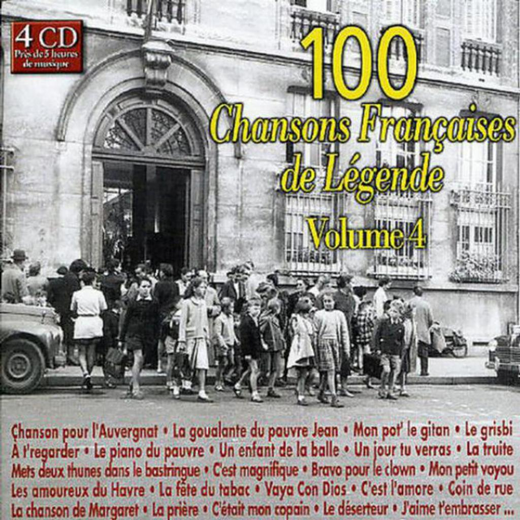 100 chansons françaises de légende : volume 4 |