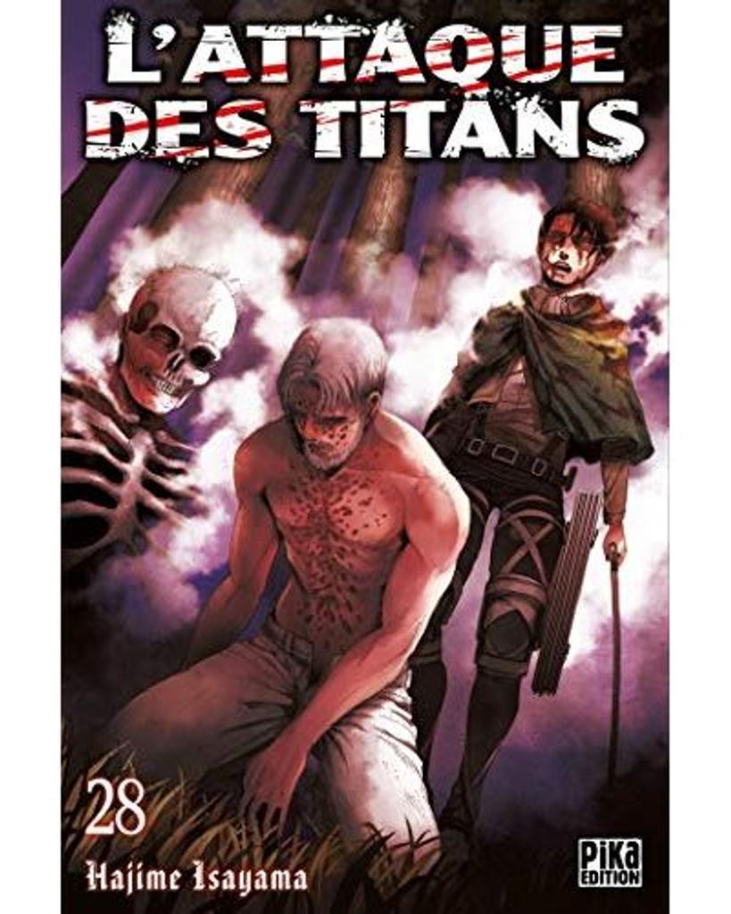 L' Attaque des Titans t.28  