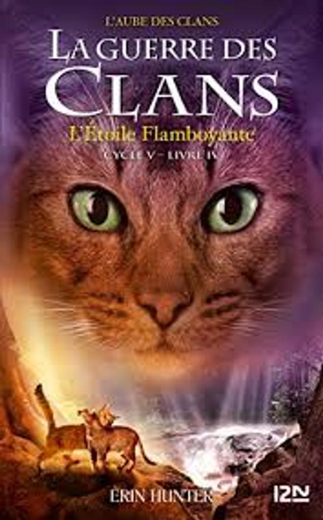 La guerre des clans : l'aube des clans t.04 : L'étoile flamboyante |
