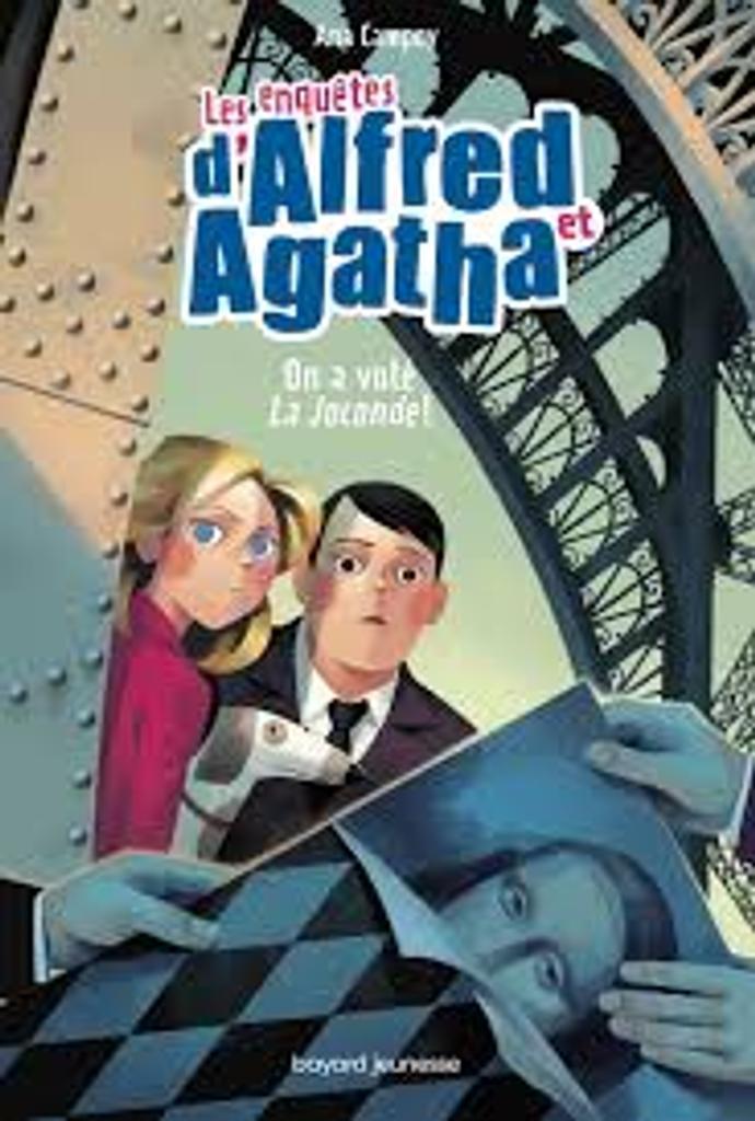 Les enquêtes d'Alfred et d'Agatha t.08 : On a volé La Joconde !  |
