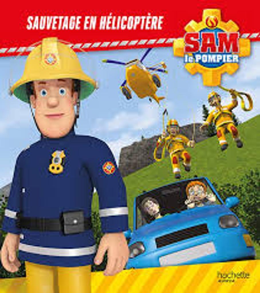 Sam le pompier : sauvetage en hélicoptère |