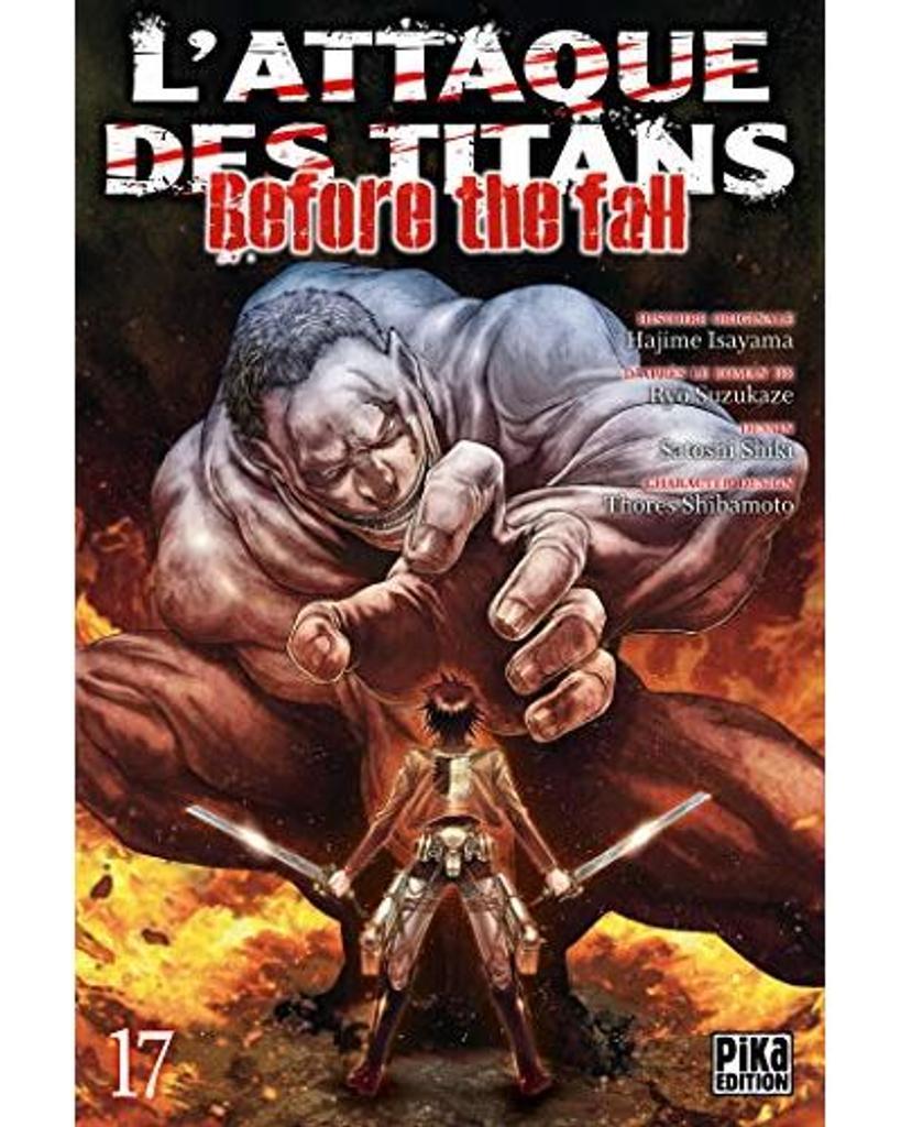 L' Attaque des Titans - Before the fall t.17 |