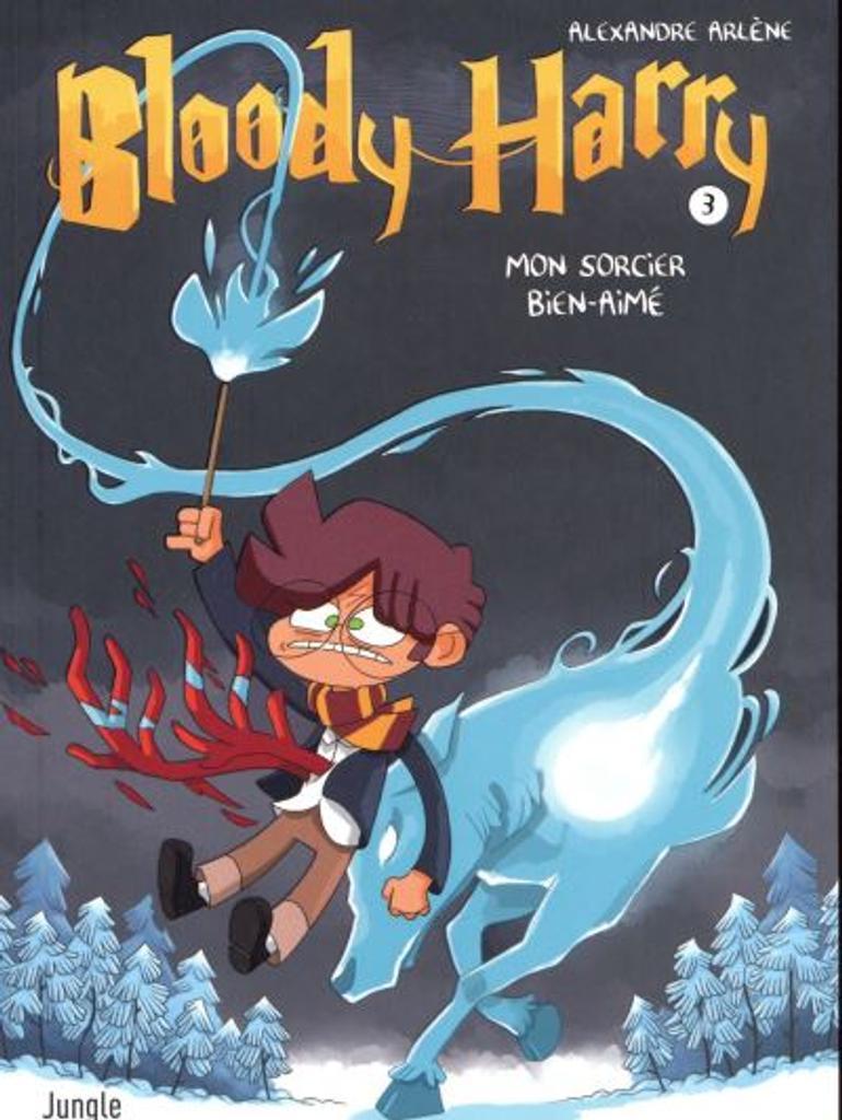 Bloody Harry t.03 : Mon sorcier bien-aimé |