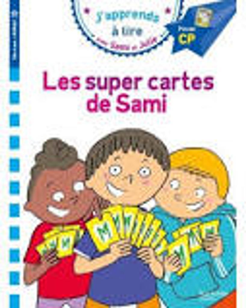 J'apprends à lire avec Sami et Julie : Les super cartes de Sami  |
