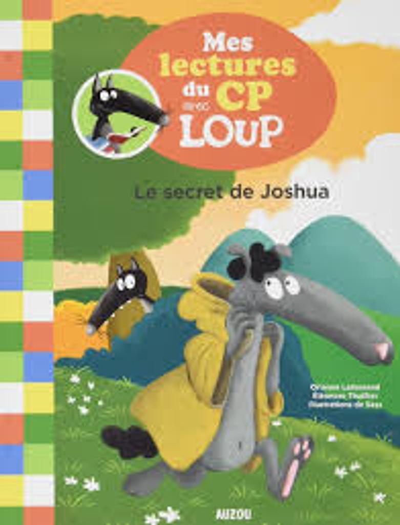 Mes lectures du CP avec Loup : Le secret de Joshua |