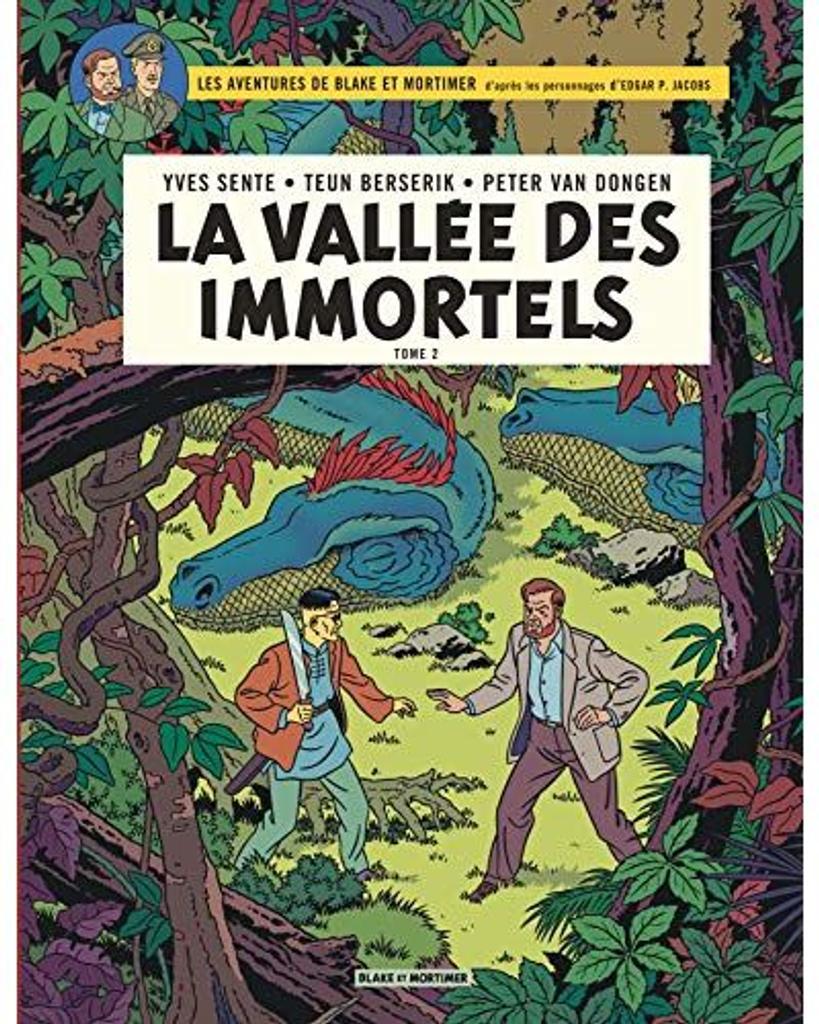 Les Aventures de Blake et Mortimer t.26 : La vallée des immortels t.02 |