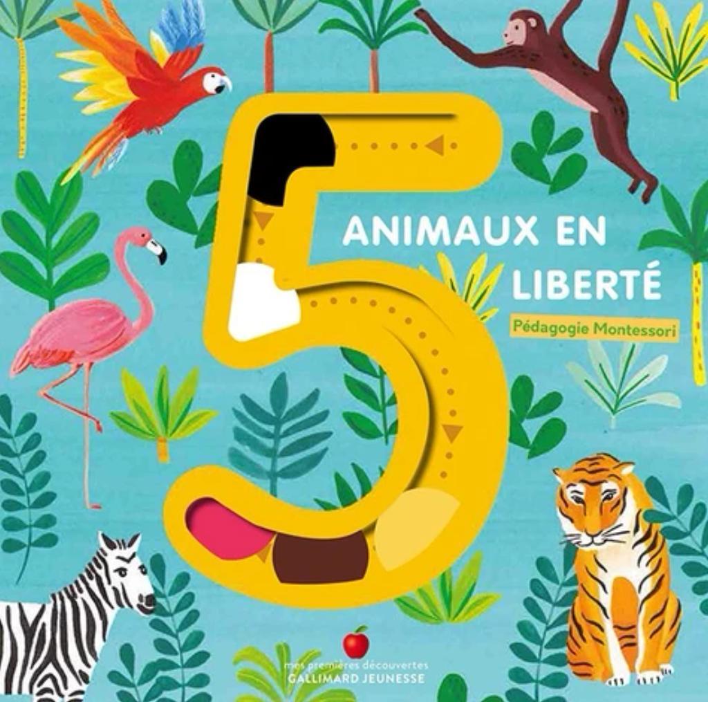 5 animaux en liberté |