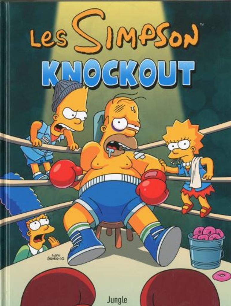 Les Simpson t.40 : Knockout |