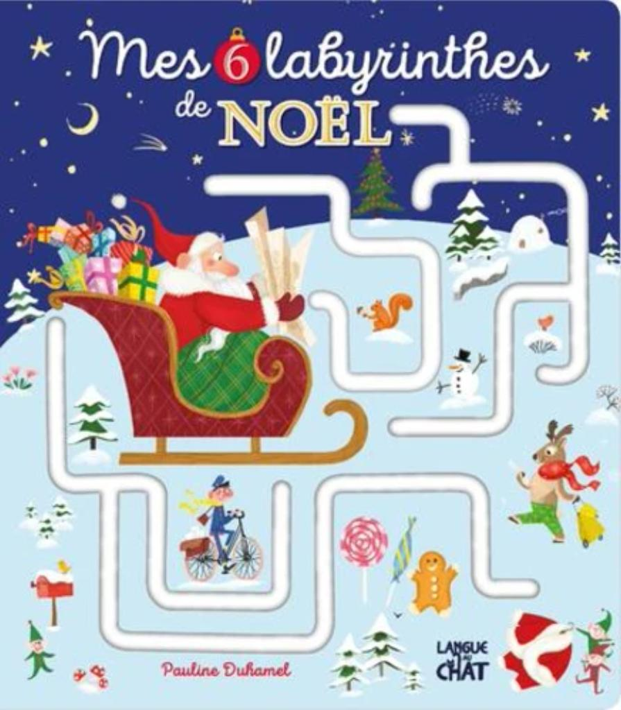 Mes 6 labyrinthes de Noël |