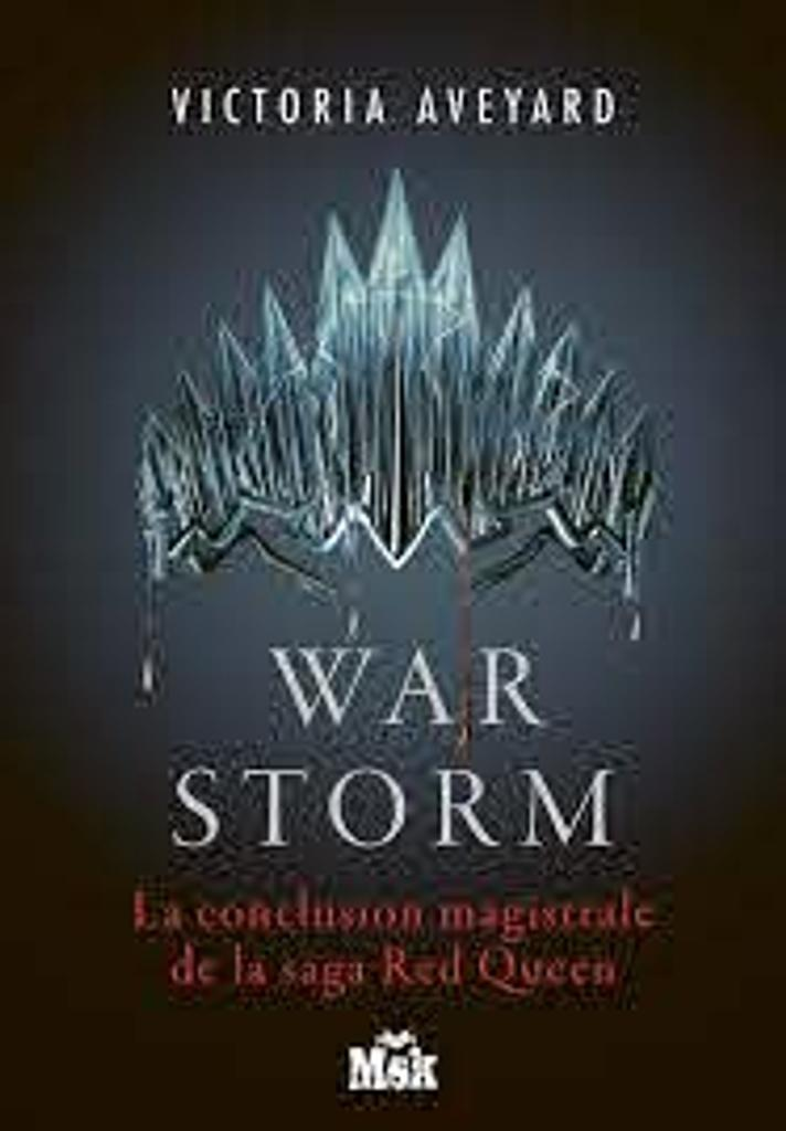 Red Queen t.04 : War Storm |