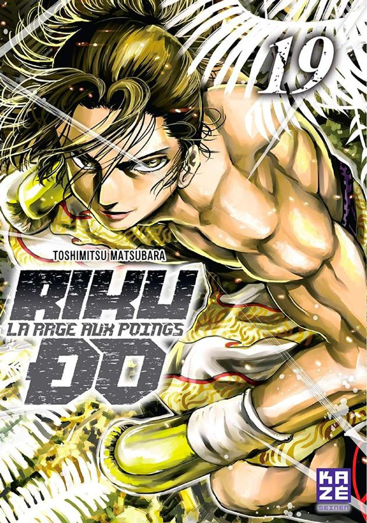 Riku-Do t.19 : La rage aux poings |