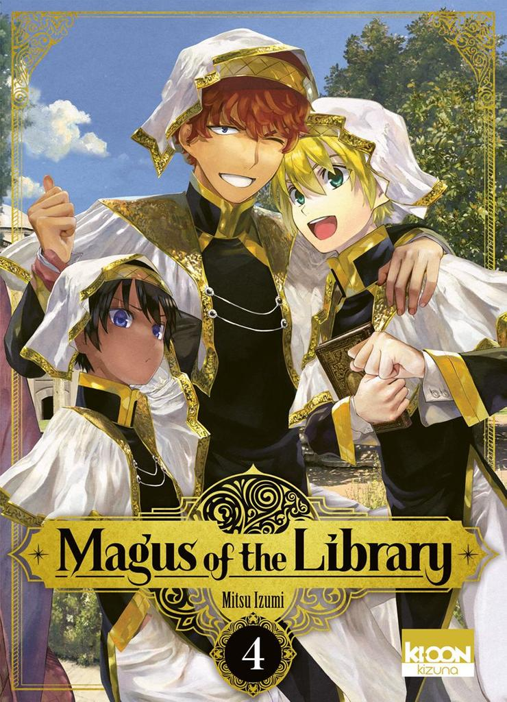 Magus of the Library t.04 |