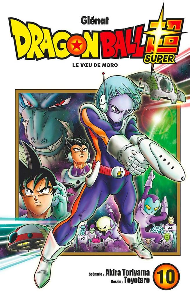 Dragon Ball Super t.10 : Le voeu de Moro |