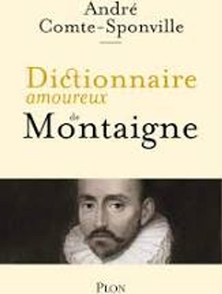 Dictionnaire amoureux de Montaigne |