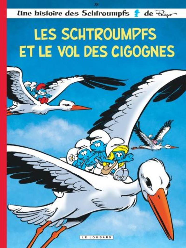 Les Schtroumpfs t.38 : Les Schtroumpfs et le vol des cigognes |
