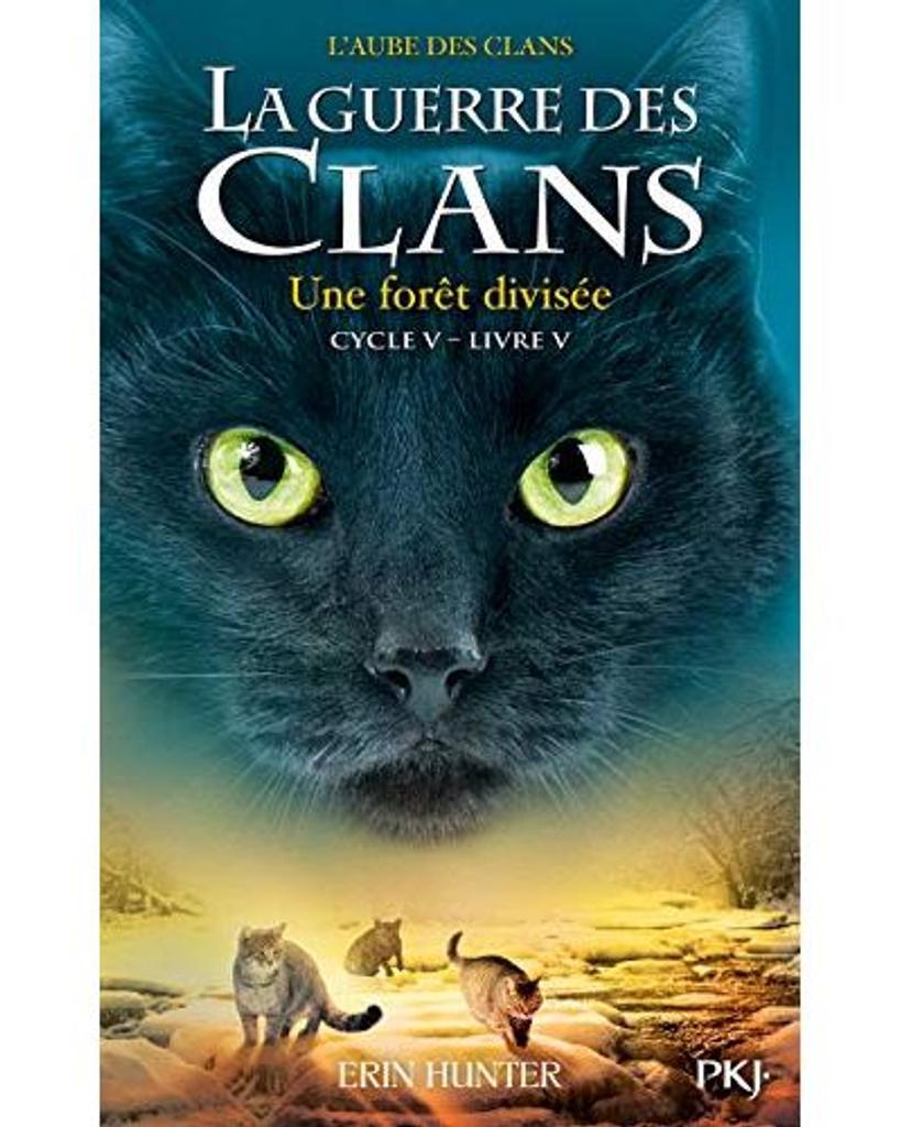 La guerre des clans : l'aube des clans t.05 : Une forêt divisée |