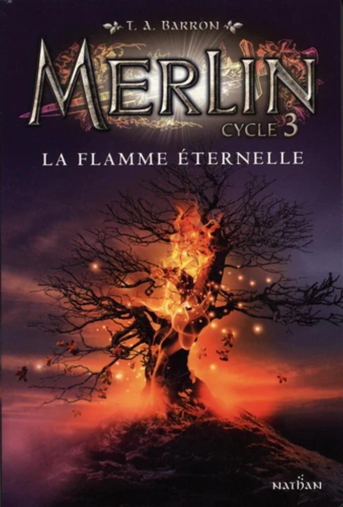 Merlin : Cycle 3 t.03 : La flamme éternelle |