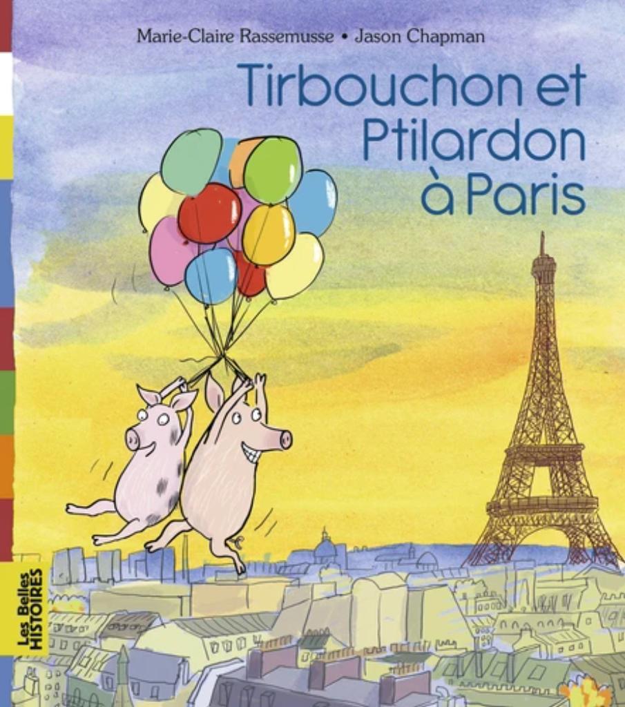 Tirbouchou et Ptilardon à Paris |
