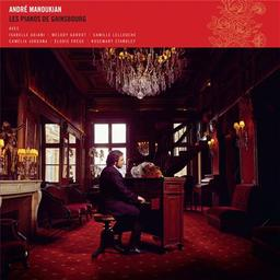 Les pianos de Gainsbourg [CD] / André Manoukian   Manoukian, André