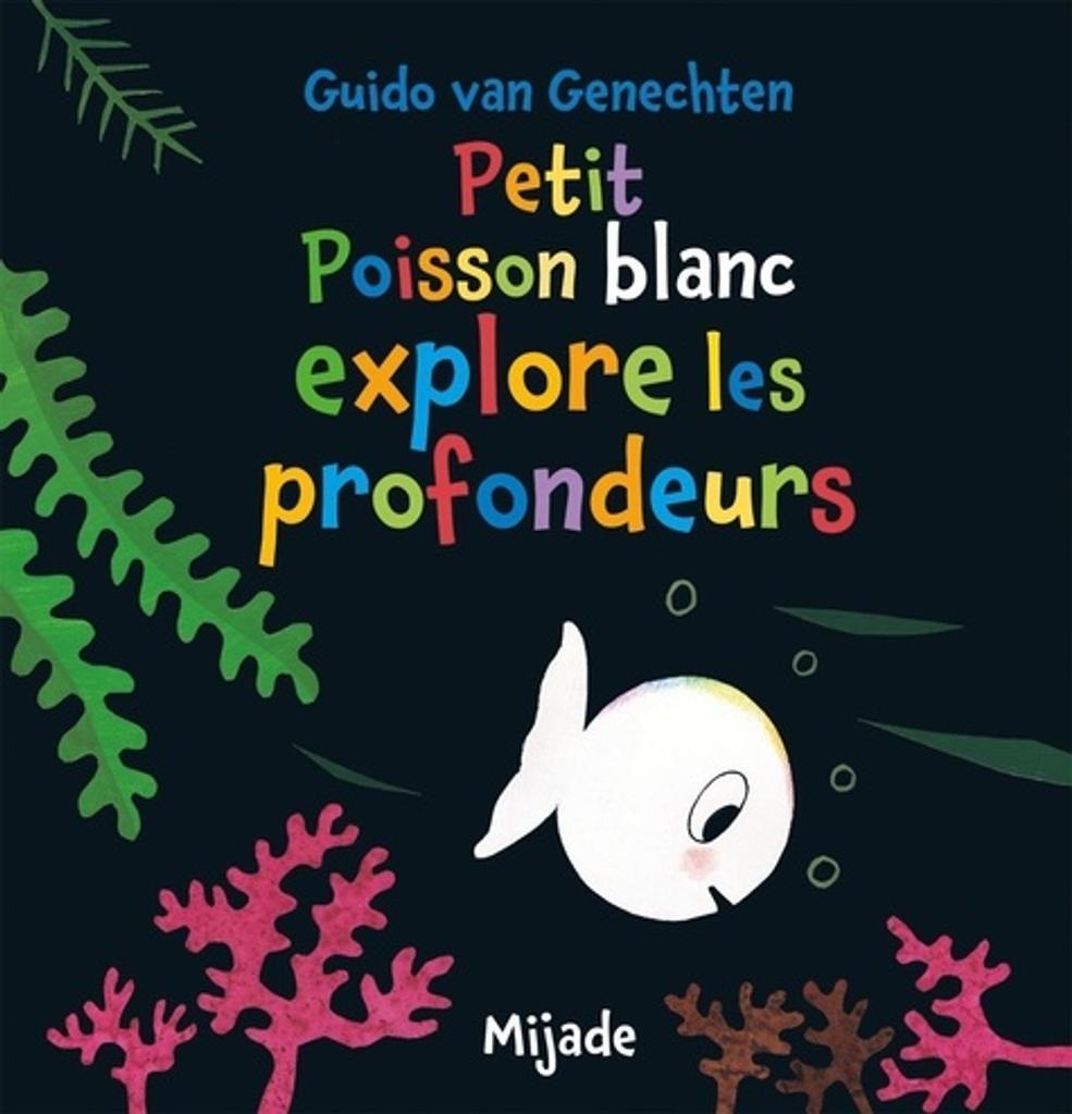 Petit poisson blanc explore les profondeurs |