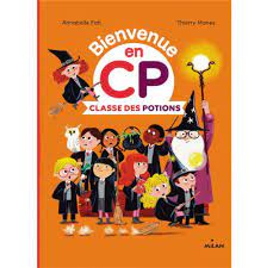 Bienvenue en CP : Classe des Potions  