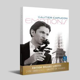 """Emotions : Edition Deluxe 2 cd + DVD bonus """"un été en France"""" / Gautier Capuçon   Capuçon, Gautier - violoncelle"""
