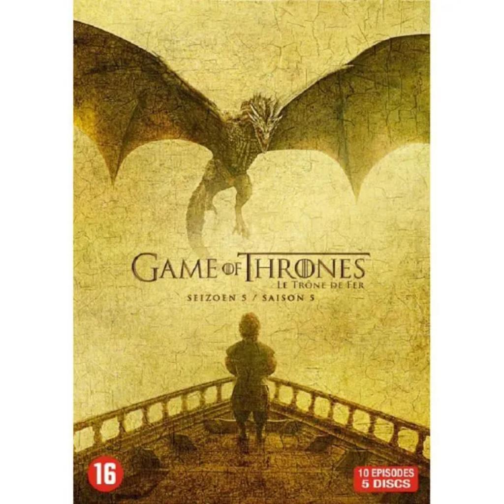 Game of Thrones - Saison 5 : [5 DVD, 10 ép.]  |