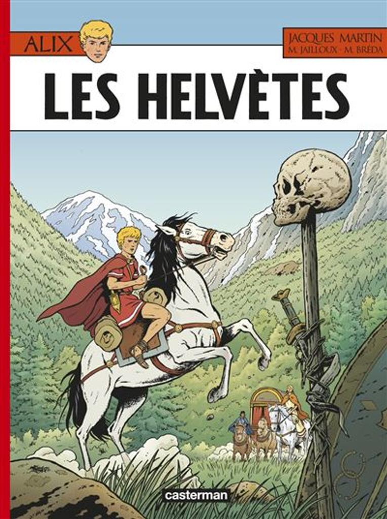 Alix t.38 : Les Helvètes  