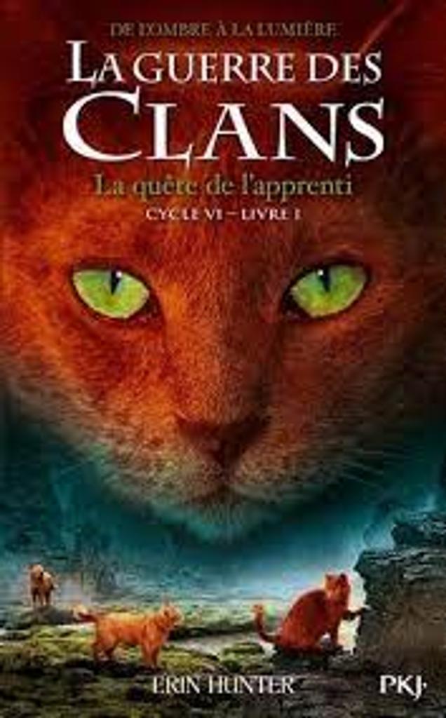 La guerre des clans : De l'ombre à la lumière t.01 : La quête de l'apprenti  