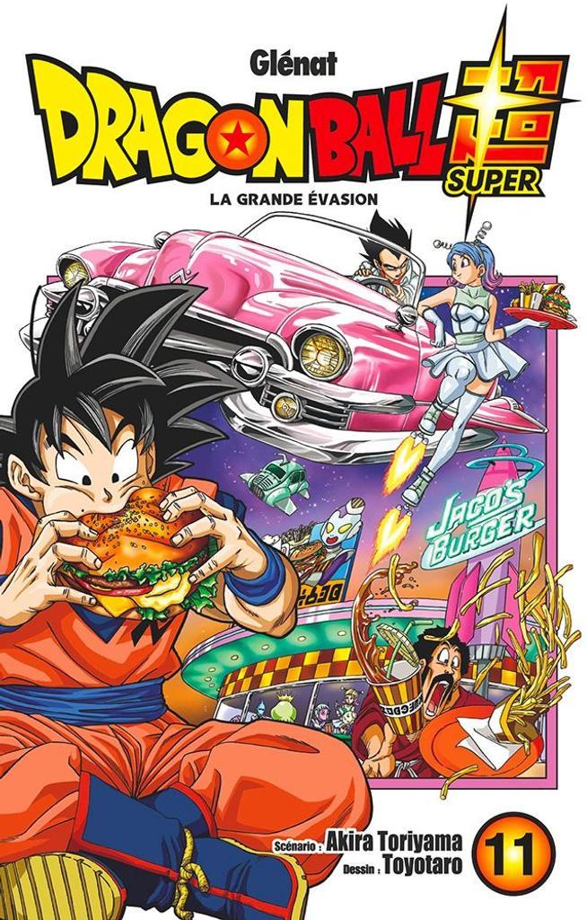Dragon Ball Super t.11 : La grande évasion  