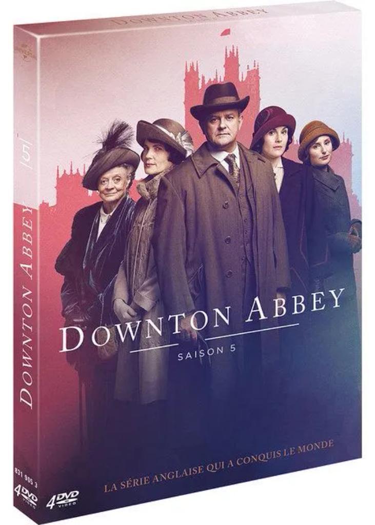 Downton Abbey [4 DVD, 8 ép.] : Saison 5 |