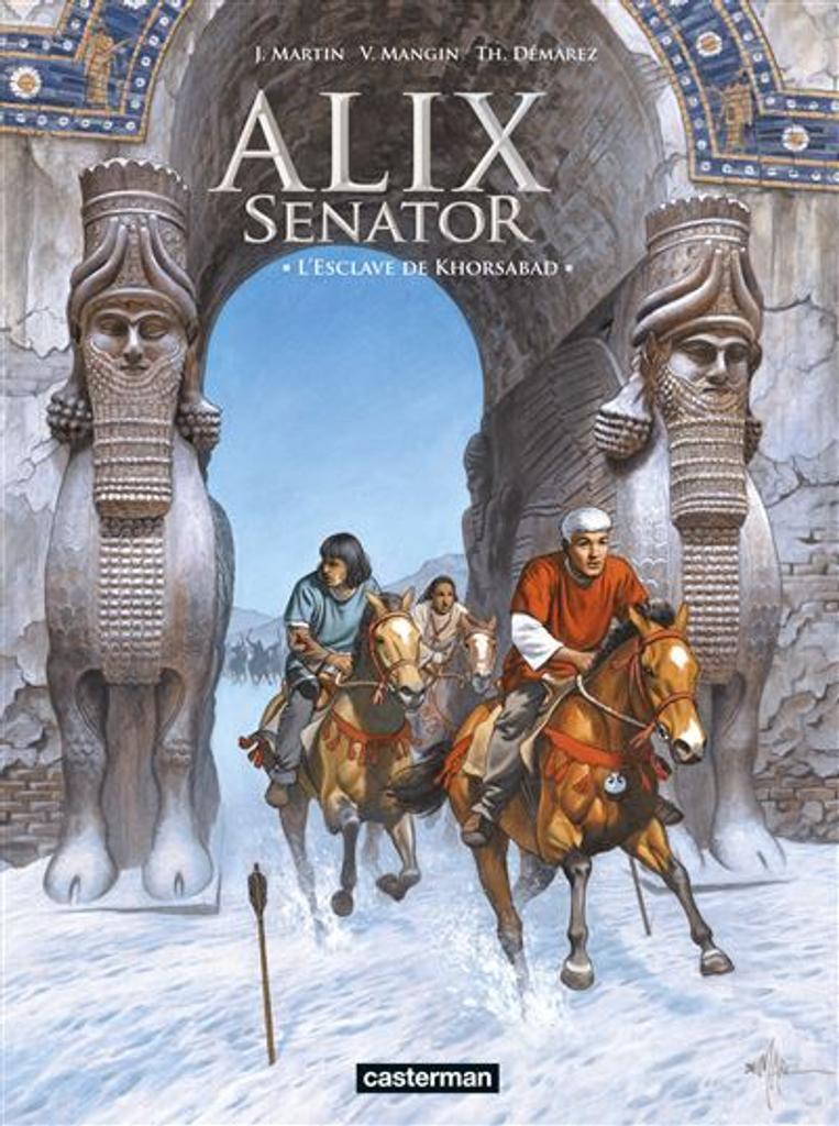 Alix senator t.11 : L'esclave de Khorsabad  